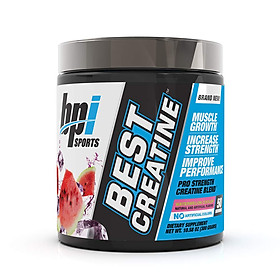 Dinh Dưỡng BPI Best Creatine tăng sức mạnh cơ bắp - Hương dưa hấu Kèm Quà Tặng Bình lắc Shaker