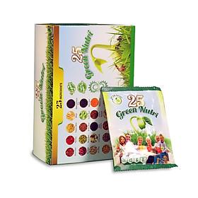Sữa hạt ngũ cốc 25 Green Nutri hộp 300g (12 gói)