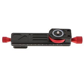 "1/4"" 3/8""  Close-up Lens Focusing Rail Slider Plate for DSLR Camera"