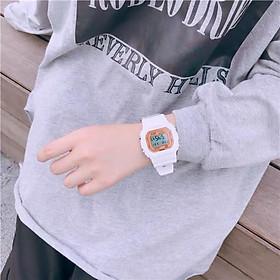 Đồng hồ unisex thể thao Sport Watch Sanosi dây cao su cao cấp chống nước chống xước tốt