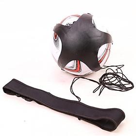 Soccer Ball Juggle Bag Auxiliary Circling Belt Kids Football Training Equipment Kick Solo Soccer Trainer Football Kick