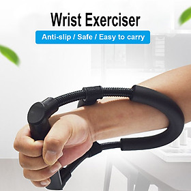 Arm Trainer Hand Grip Adjustable Forearm Grip Wrist Exercise Force Trainer Power Strengthener Body Fitness-7