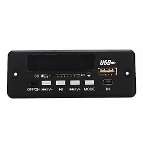 Mô-đun MP3 USB Bluetooth 3.0 02CBT (Kèm Điều Khiển Từ Xa)