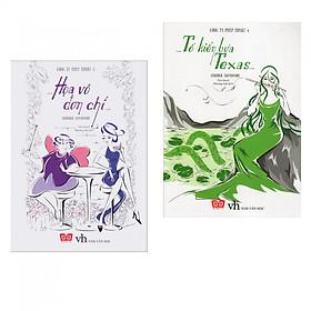 Combo 2 cuốn sách văn học hấp dẫn:  Công Ty Phép Thuật 3 - Họa Vô Đơn Chí +  Công Ty Phép Thuật 4 - Tổ Kiến Lửa Texas ( Tặng kèm Bookmark Happy Life)