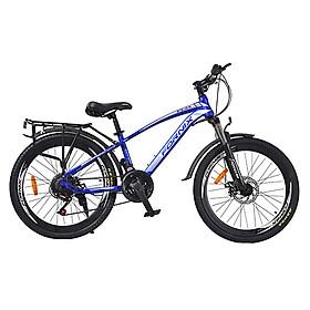 Xe đạp địa hình hiệu Fornix, Ft24, vòng bánh 24'', màu Xanh bạc