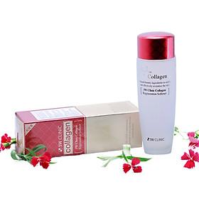 Nước hoa hồng dưỡng da săn chắc chống lão hóa Collagen 3W CLINIC Hàn Quốc 150ml