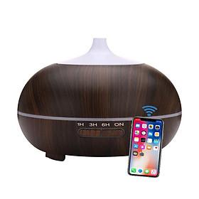 Máy khuếch tán bí ngô wifi thông minh kết nối app phun sương tạo ẩm lọc khí tạo hương xông tinh dầu Aramacs 550ml-1