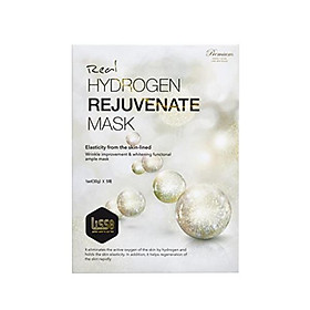 Mặt nạ dưỡng trắng nâng cơ Lisse Real Hydrogen Rejuvenate Mask Set 3 Miếng Lẻ