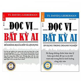Combo 2 Cuốn Sách Đọc Vị Bất Kỳ Ai: Để Không Bị Lừa Dối Và Lợi Dụng + Áp Dụng Trong Doanh Nghiệp - (Tặng Kèm Bookmark Thiết Kế)