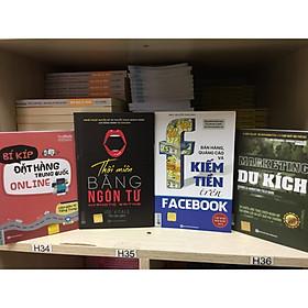 Combo 4 cuốn: Bí kíp đặt hàng Trung Quốc, Thôi miên bằng ngôn từ, Bán hàng quảng cáo và kiếm tiền trên facebook và marketing du kích tặng bookmark