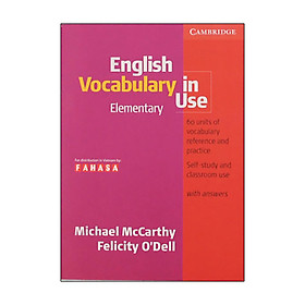 English Vocabulary In Use Ele. FAHASA Reprint Edition