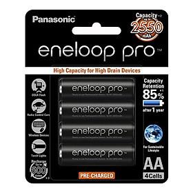 Bộ pin sạc PanaSonic Eneloop 2550 Mah (Made in Japan) - Hàng chính hãng