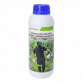 Phân bón gốc Rynan L-Amino Acids L500 (chai 1 Lít) - Kích thích rễ, tăng đề kháng, giải độc và hạ phèn cho đất