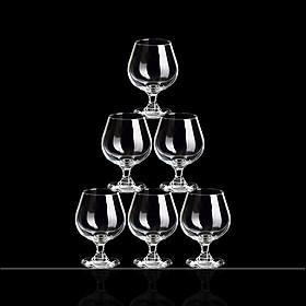 Bộ 6 ly thủy tinh uống rượu vang, cocktail