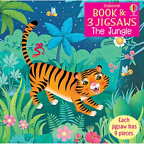 Book & Jigsaw The Jungle