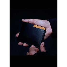 Ví da nam thông minh chống trộm Invisible Wallet – Cầm tay đựng thẻ, da bò Ý cao cấp, mini nhỏ gọn