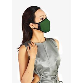 Khẩu trang thời trang cao cấp Soteria Olive ST258, bộ lọc bụi mịn N95 BFE PFE > 99% đến 0.1 micromet