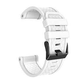 〖Follure〗For Garmin Fenix/Fenix 2 Band Easy Fit 26mm Width Soft Silicone Watch Strap