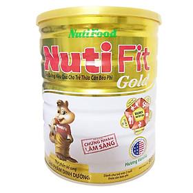 Sữa cho trẻ từ 2 tuổi bị thừa cân béo phì:  NutiFit Gold 900 gr