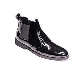 Giày Chelsea boot cổ chun da bóng ver 2.0 (CB520 bóng)