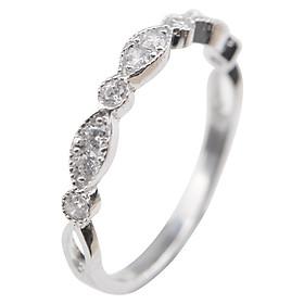 Nhẫn Hạt Dưa Gix Jewelry GR020 - Trắng