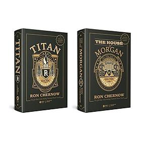 Sách - Combo Những Nhà Tài Phiệt Kiến Tạo Nước Mỹ (Gia Tộc Morgan + Titan - Gia Tộc Rockefeller)