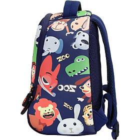 Uek kindergarten bag boy girl baby 1-3-5-6 years old blue shoulder child backpack tide boy small bag