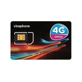 Sim Trắng 4G Mạng Vinaphone - Dùng để thay SIM cũ - Màu ngẫu nhiên