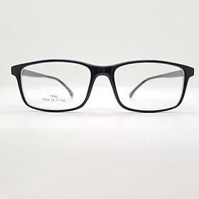 Gọng kính nam, nữ nhựa dẻo Tr90 kiểu dáng đơn giản, hiện đại-5066