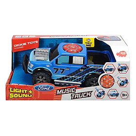 Đồ Chơi Xe Tải Âm Nhạc Dickie Toys Music Truck (23 cm)