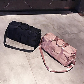 (Cỡ lớn) Túi trống du lịch thể thao cho nam nữ có nhiều ngăn để giầy đi chơi phượt cỡ lớn