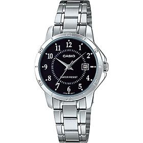 Đồng hồ nữ dây kim loại Casio LTP-V004D-1BUDF