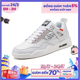 Giày Sneaker Nam YAMET YM1191T Màu Trắng
