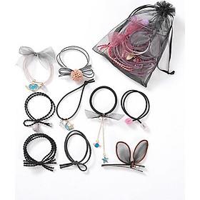 Phụ kiện tóc nữ túi cột tóc Hàn Quốc BERI 046-050