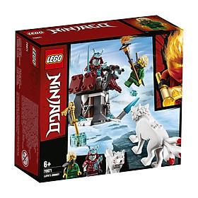 Đồ Chơi Xếp Hình LEGO Cuộc Chạm Trán Giữa Lloyd Và Samurai Băng 70671