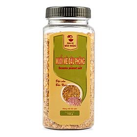 Muối Mè Đậu Phộng Hũ 150g - Thực phẩm thuần chay dinh dưỡng