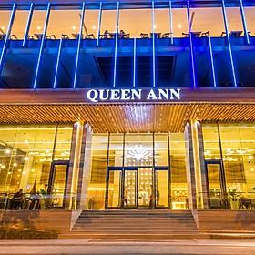 Queen Ann Hotel Nha Trang 5* - Bữa sáng miễn phí, khách sạn trung tâm thành phố, sát biển - Ưu đãi đặt sớm