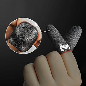 Bao tay chơi gane điện thoại MEMO GT2 (Bản cao cấp) siêu mỏng cảm giác thật, logo nổi, vải sợi carbon siêu bền chống giãn xù tăng cường cảm ứng chạm, chống mồ hôi dành cho game PUBG Tốc Chiến Freefire Liên Quân mobile - Hàng chính hãng