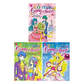 Combo Tô Màu Công Chúa Phép Thuật + Cô Chúa Và Bạch Mã Hoàng Tử - Tập 1 +  Cô Chúa Và Bạch Mã Hoàng Tử - Tập 2 (3 cuốn)