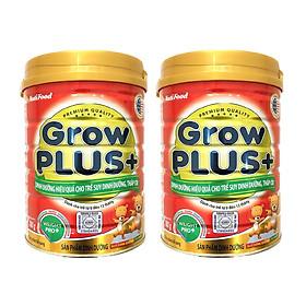 Bộ 2 Lon Sữa Bột GrowPLUS+ Đỏ Lon 780g Suy Dinh Dưỡng Cho Trẻ Dưới 1 Tuổi - Hàng Chính Hãng - Grow Plus SDD-0