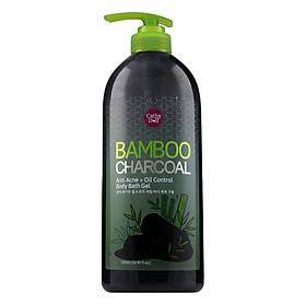 Sữa Tắm Than Tre Cathy Doll Bamboo Charcoal Anti Acne+Oil Control Body Bath Gel (500ml)