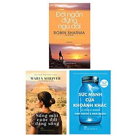 Combo 3 Cuốn Sách :Sống Một Cuộc Đời Đáng Sống + Sức Mạnh Của Từng Khoảnh Khắc + Đời Ngắn Đừng Ngủ Dài (Những Cuống Sách Giúp Bạn Sử Dụng Thời Gian Một Cách Hiệu Qủa )