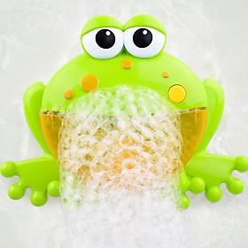 Máy tạo bọt bong bóng hình con ếch cho bé