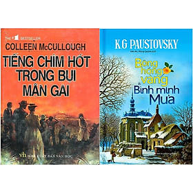 Combo Bông Hồng Vàng Và Bình Minh Mưa + Tiếng Chim Hót Trong Bụi Mận Gai