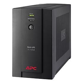 Bộ Lưu Điện UPS APC BX1100LI-MS 550W - Hàng Chính Hãng