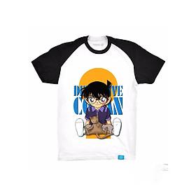 Áo Thun Trẻ Em In Hình Conan Mẫu Mới Đủ Size Từ 3-40KG