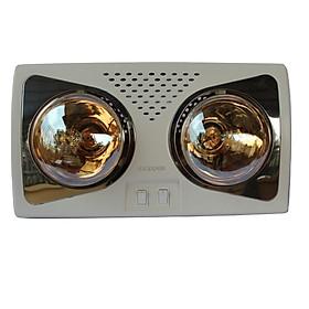 Đèn Sưởi Phòng Nhà Tắm Klopper LH02 (2 Bóng) - Chính Hãng