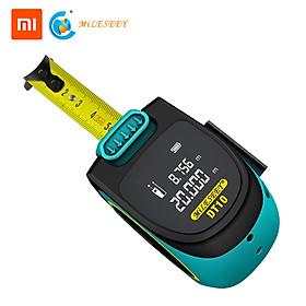 Mileseey Thước đo khoảng cách laser kỹ thuật số sáng tạo , màn hình đèn LED có thể sạc lại bằng USB, đo khoảng cách lên tới 5M - INTL