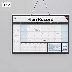 Fizz Plan Book Plan Record Paper Basis Months Plan Habit Development Plan Plan Book Paper Plan Household Office For Planning Work And Recording Life