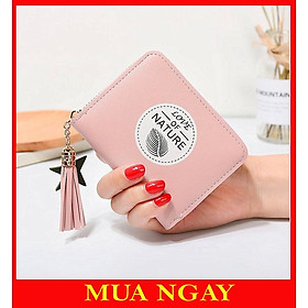 Ví bóp nữ cầm tay đựng tiền nhỏ mini siêu đẹp Nature VN31 Siêu Đẹp